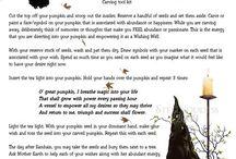 )O( ~spells, incantations, & divinations / by Jennifer Malloy