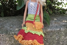 Crocheted Doll clothes and stuff