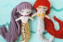 Mermaid Crafts, DIY's and Activities