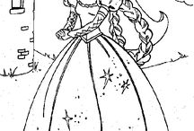 coloring pages 30 (barbie)