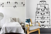 Wall Decals / by Rebecca Martin