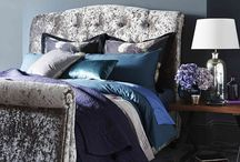 Expressive Bloom / Traditional florals are given a luxurious update this season as we continue to see a focus on darker, richer colours. Exotic prints of blooms enhance an opulent interior. Shimmering, velvet fabrics and hints of satin add to the expressive and romantic feel of this gorgeous look.
