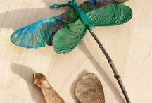 Kinderknutsels natuur / Leuke knutsels voor kinderen met dingen uit de natuur.