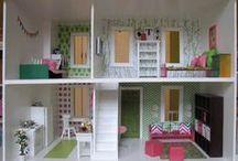 Indspirerende Barbiehuse