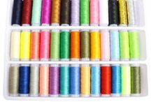 39 bobines fil broderie,polyester,travaux aiguille,couture