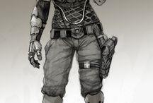 SciFi Armor Concept Art