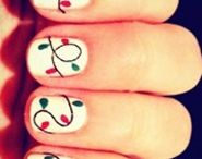 Nail and hair / Cool and different nail and hair designs