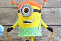 Minion Cakes / Minions are popular from the movie Despicable Me. Here are some minion cakes posted on CakesDecor.