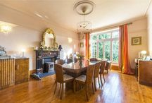 Divine dining rooms / Property for sale in Cornwall with divine dining rooms.