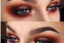 Brown warm /copper eyeshadow