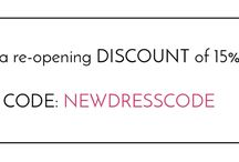 We are back with a new DESIGN / Enjoy a reopening discount 15% OFF - CODE : NEWDRESSCODE