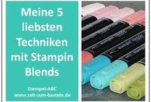 Stampin up Blends