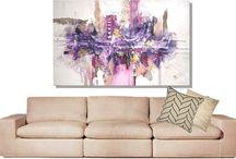 divano / idee per quadri da appendere sopra al divano