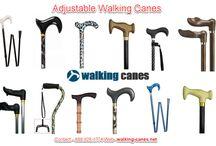 adjustable walking canes