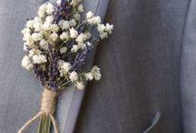 For him - wedding pin