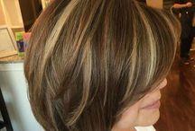 Medium Length Haircuts with Bangs