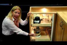Kitchen Cabinets Solution for Blind Corner Cabinet