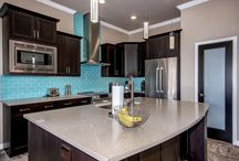 Sky Blue Subway Tile / A beautiful kitchen update done with our Sky Blue subway tile. Update done by Good Guys Remodeling.