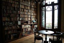 Libreria - Biblioteca - Libros - Lectores / by Lucia Millan Sanchez