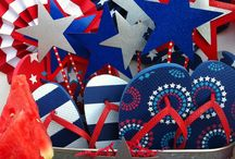 4th of July Ideas / Show your true blue patriotism with 4th of July recipes, red, white & blue party supplies and 4th of July party favors.