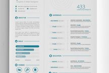 Infographic & Visual resumes