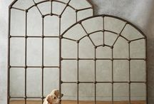 Puertas, ventanas y espejos