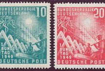 Stamps, Germany, GFR