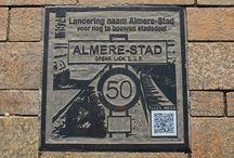 Almere, Walk of Fame / De nog korte korte geschiedenis van Almere, verteld in straattegels