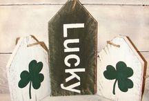 St. Patrick Day Craft Ideas / St Patrick's day craft projects, craft ides, St. Patrick's home decor, holiday decor
