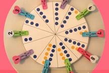 thema tellen / cijfers       counting / numbers / activiteiten om het tellen / cijfers te oefenen / by Christel Bellens