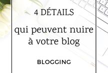 • Blogging •