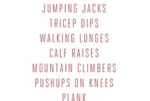 Workout / by Elisabeth Allen