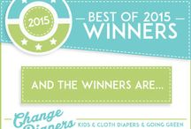 "Change-Diapers ""Best Of"" Award Winners / Change-Diapers fans vote the best new products every year."