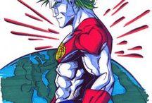 For Art Class (Superhero): Captain Planet!