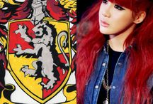 HP&KPOP / Sorting the Kpop idols into Gryffindor, Slytherin, Ravenclaw & Hufflepuff :) ps these edits are 100% mine and made by me