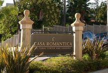Casa Romantica / Working closely with the City of San Clemente and the Casa Romantica Cultural Center stakeholders, RSM Design created a comprehensive signage system to compliment the historic Ole Hanson architecture. Inspired by 1920′s Spanish tiles, RSM Design had custom-made dedication plaques done in a similar style.