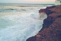 En el mar... / Preciosos lugares con mar que nos encantan!