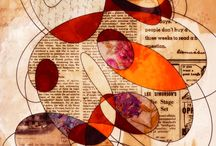 Karen Hall collage
