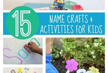 15 Name Crafts