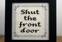 Aaahhh, Cross-Stitch