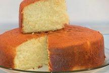 bolo farinha branca