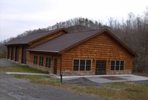 Log Siding Projects / When the job calls for siding and not full logs, we have a variety of profiles and corners to suit your needs.