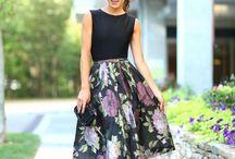 faldas moda