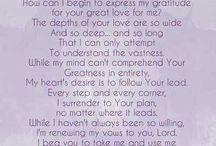 A Prayer of surrender ⛵