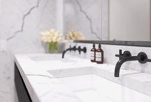 residential bathroom.