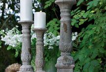 Lysestaker og lanterner