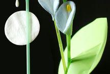 κατασκευες λουλούδια