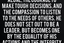 Leadership. Customer Service