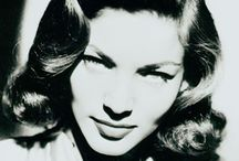 "Icon: Lauren Bacall / ""A Legend Involves the Past"" -LB"