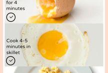 Gotowanie - jajka